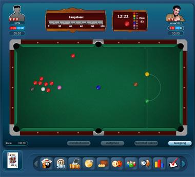 online snooker spielen